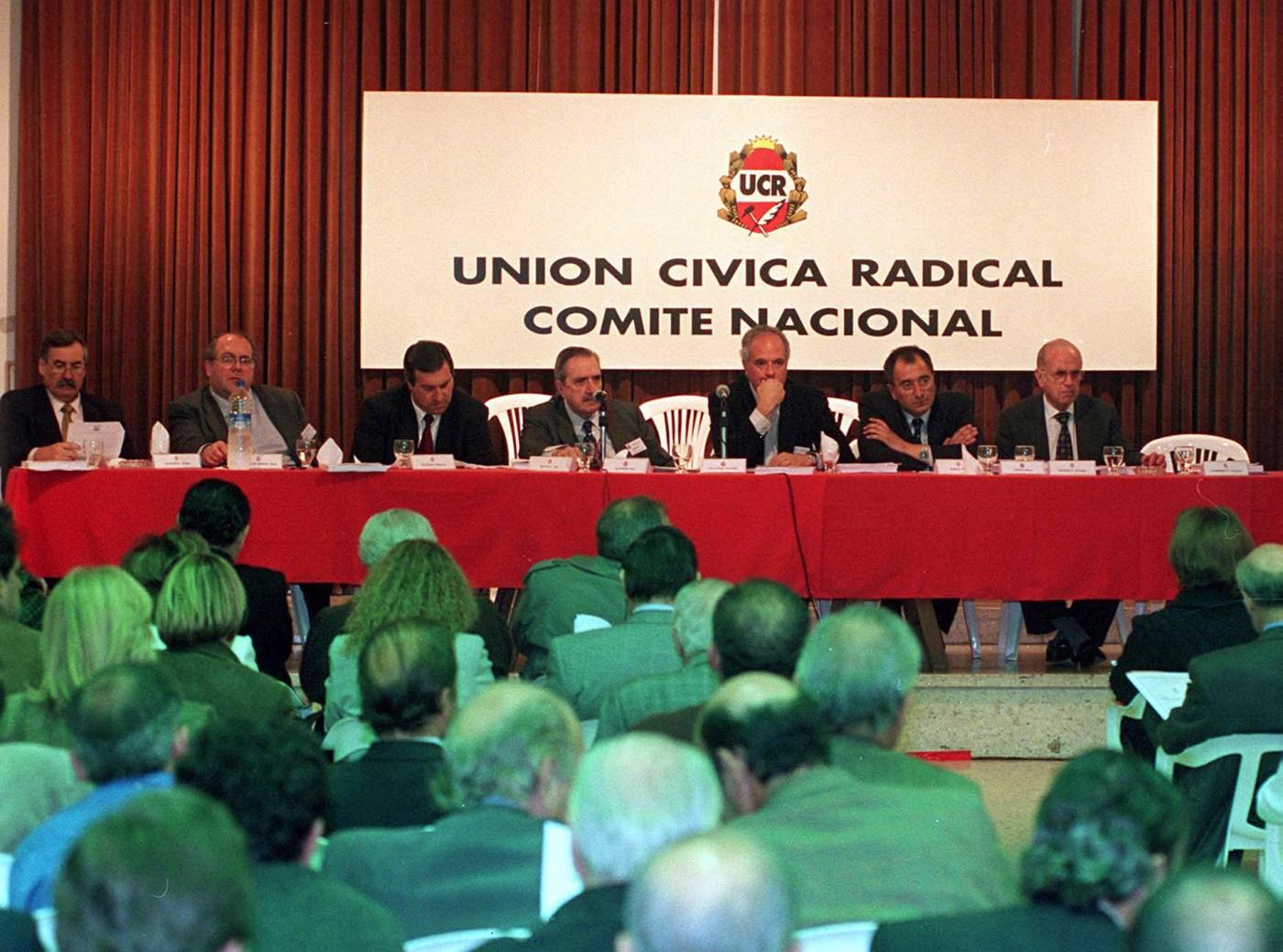 En el comité nacional de la Unión Cívica Radical