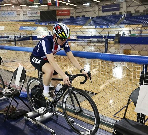 Catlin formaba parte del equipo olímpico estadounidense (Twitter: @kelly_catlin)