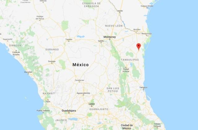 San Fernando está a unos kilómetros de la frontera con EEUU. (Foto: Google maps)
