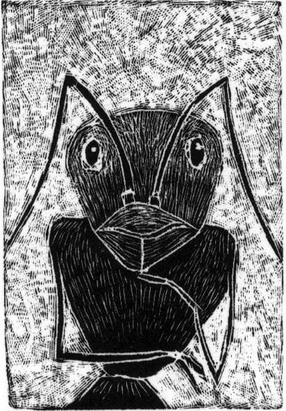 Insecto pensante, incluido en el libro