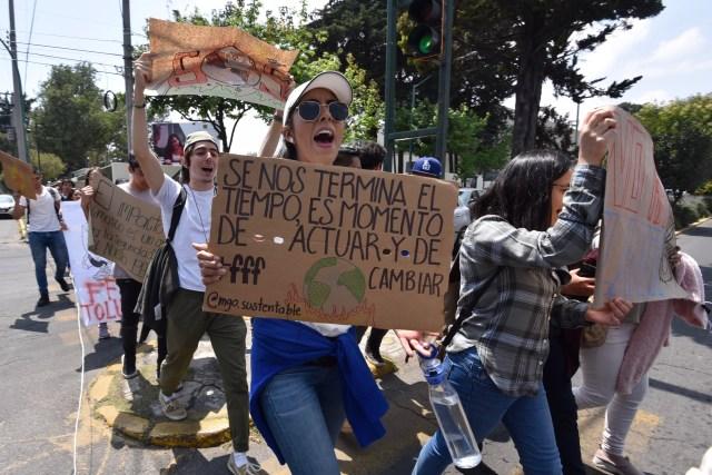 El movimiento hizo que salieran a la calle jóvenes de 1.769 ciudades en todo el mundo (FOTO: ARTEMIO GUERRA BAZ /CUARTOSCURO)