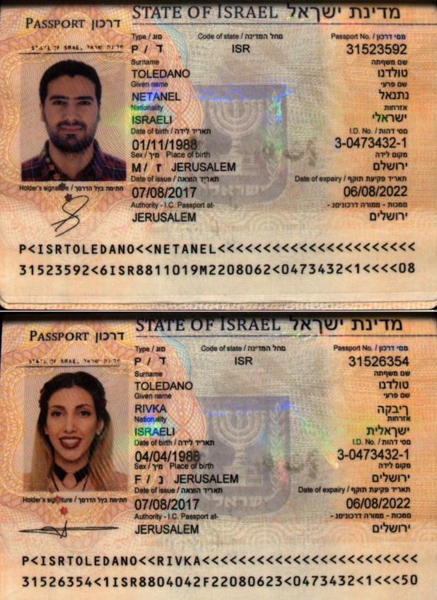 Los pasaportes adulterados