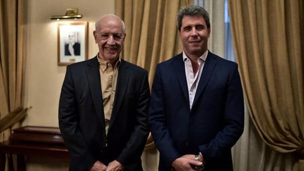 El mandatario sanjuanino respaldó la candidatura de Roberto Lavagna