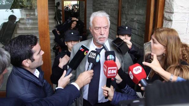 Roberto Ribas, abogado de Carlos Stornelli (Foto: Ezequiel Acuña)