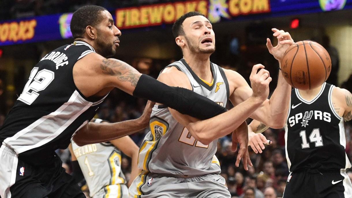 San Antonio Spurs enfrentará a Cleveland Cavaliers (Reuters)