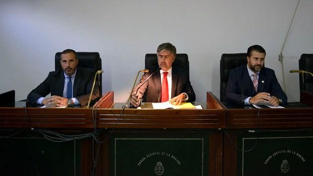 El tribunal que condenó al ex Presidente (Gustavo Gavotti)