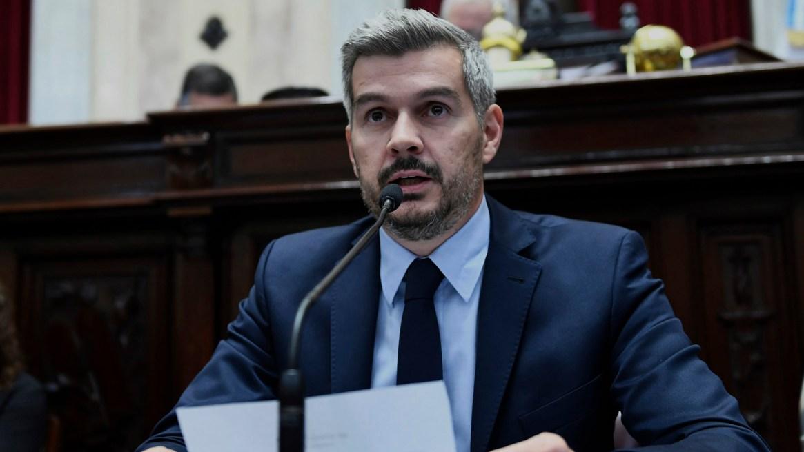 Marcos Peña, jefe de Gabinete (foto: Prensa Senado)