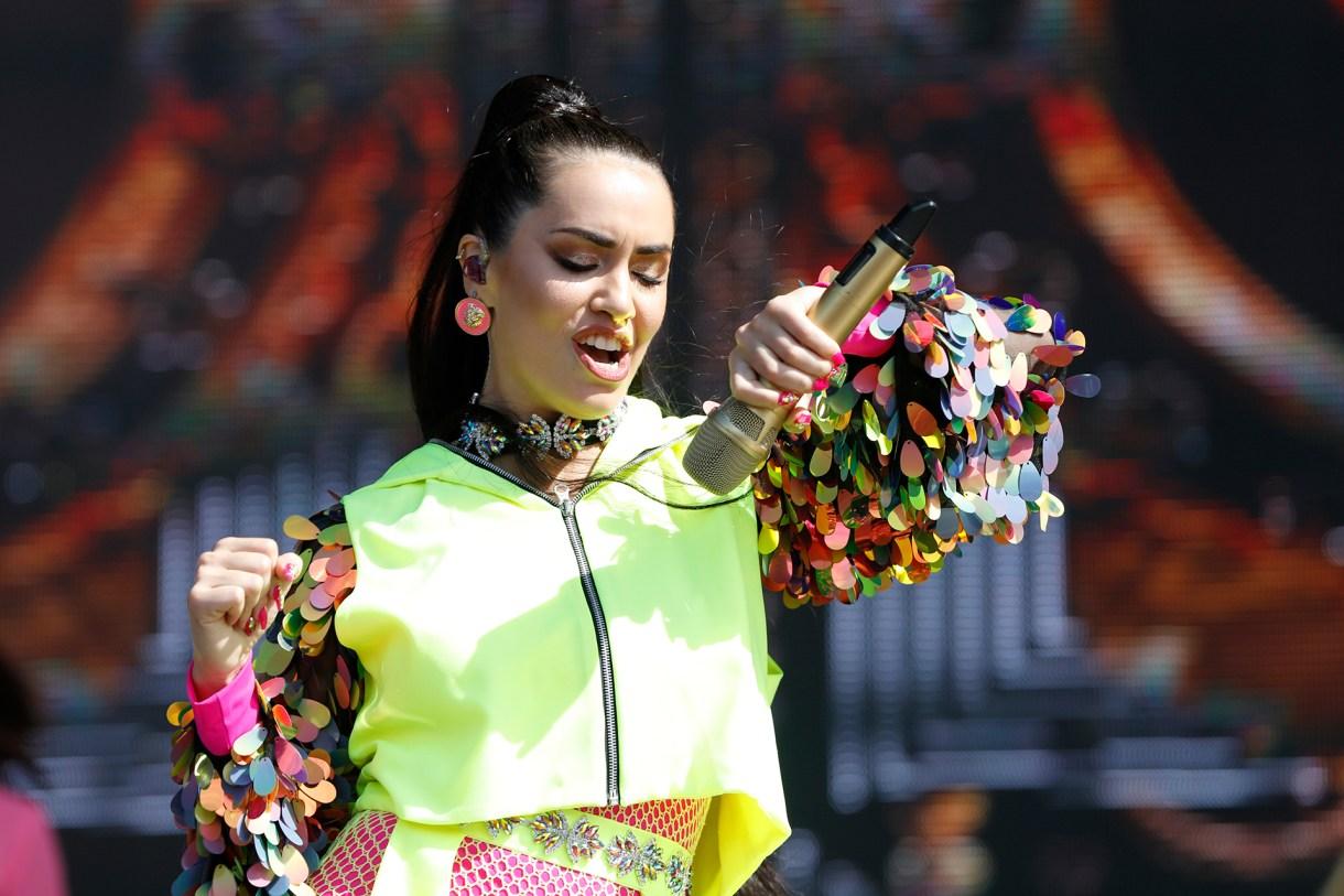 La intérprete también estuvo en Brasil para celebrar los carnavales (Chule Valerga)