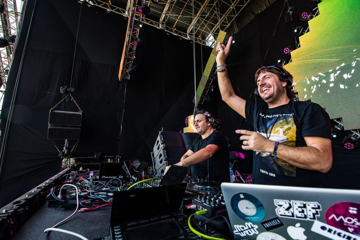 La música electrónica también estuvo presente en la tercera jornada del festival (Lollapalooza)