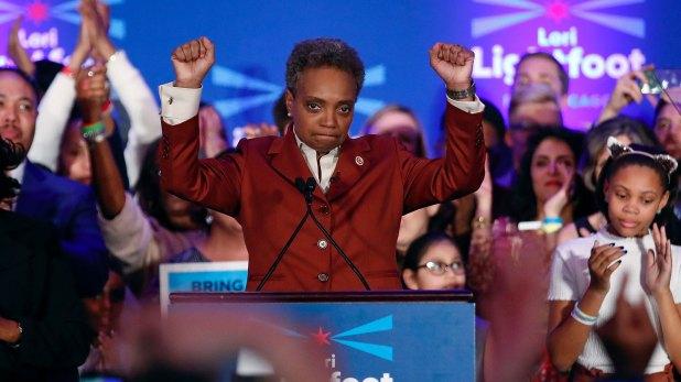 La celebración de Lightfoot (AFP)