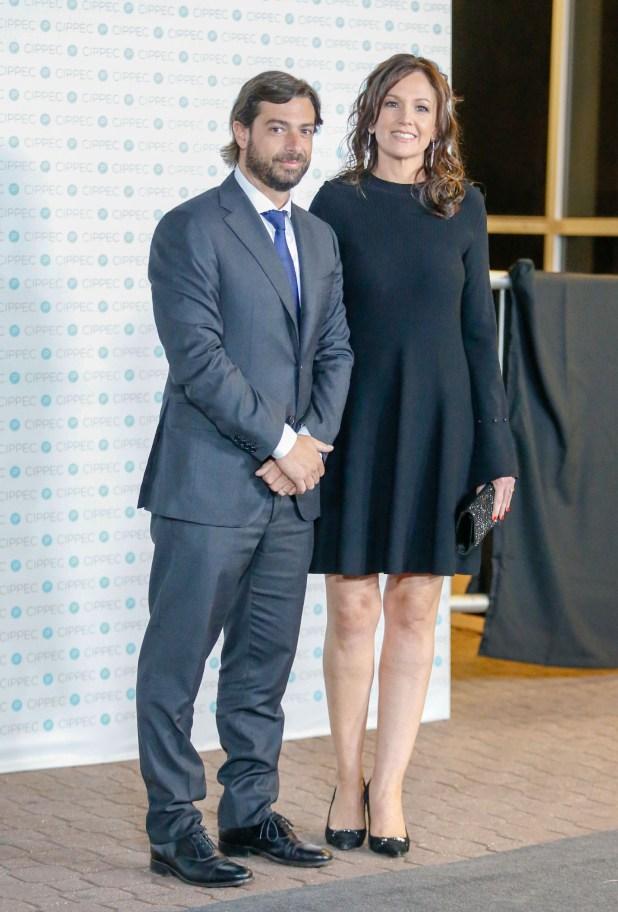 La ministra de Salud y Desarrollo Social, Carolina Stanley, y su marido Federico Salvai, jefe de Gabinete de Ministros de la Provincia de Buenos Aires