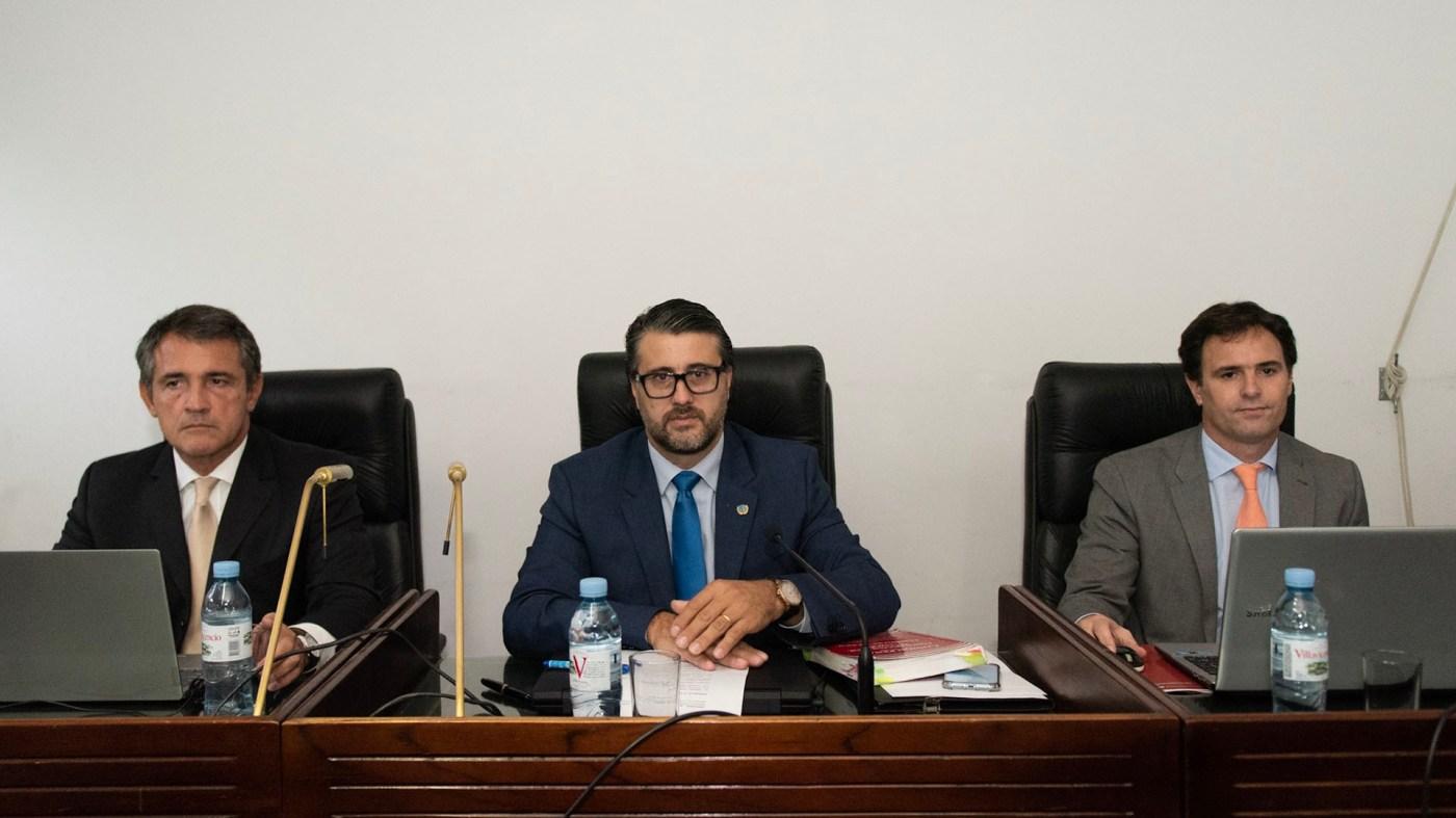 Los jueces del Tribunal Oral que juzgan a Samid
