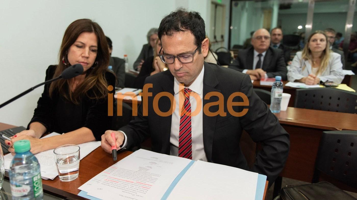 Gabriel Pérez Barberá, el fiscal del juicio