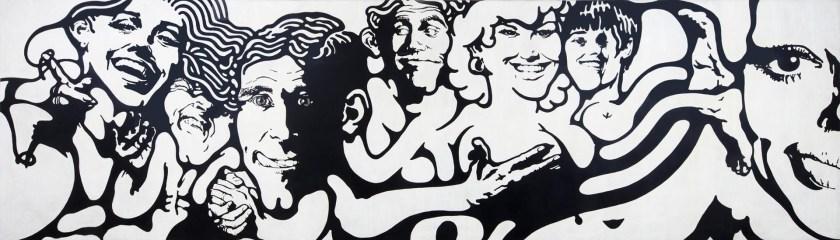 """""""Sin título"""", de Jorge de la Vega en MCMC, Cardinal Site, de arteBA"""