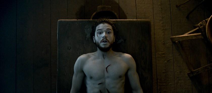 La resurrección de Jon Snow (Foto: HBO)