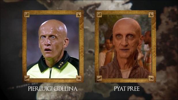 Pierluigi Collini (ex árbitro italiano) con Pyat Pree