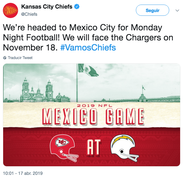 (Foto: Twitter Kansas City Chiefs)