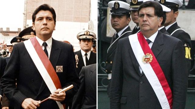 Comparación entre su primera y segunda investidura como presidente del Perú