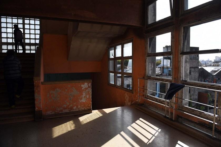 Uno de los pisos superiores de la ex fábrica SELSA..