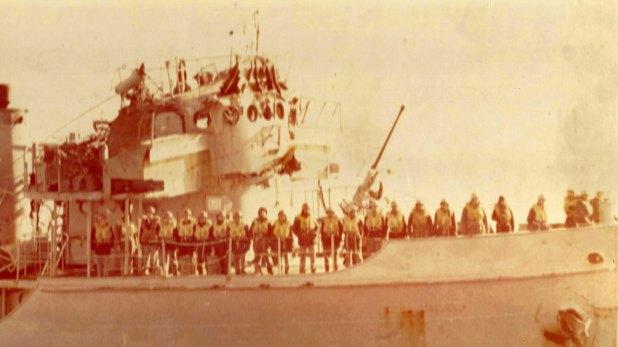 El Sobral tardó tres días en regresar al continente, sabían que si se desataba una tormenta el buque no aguantaría