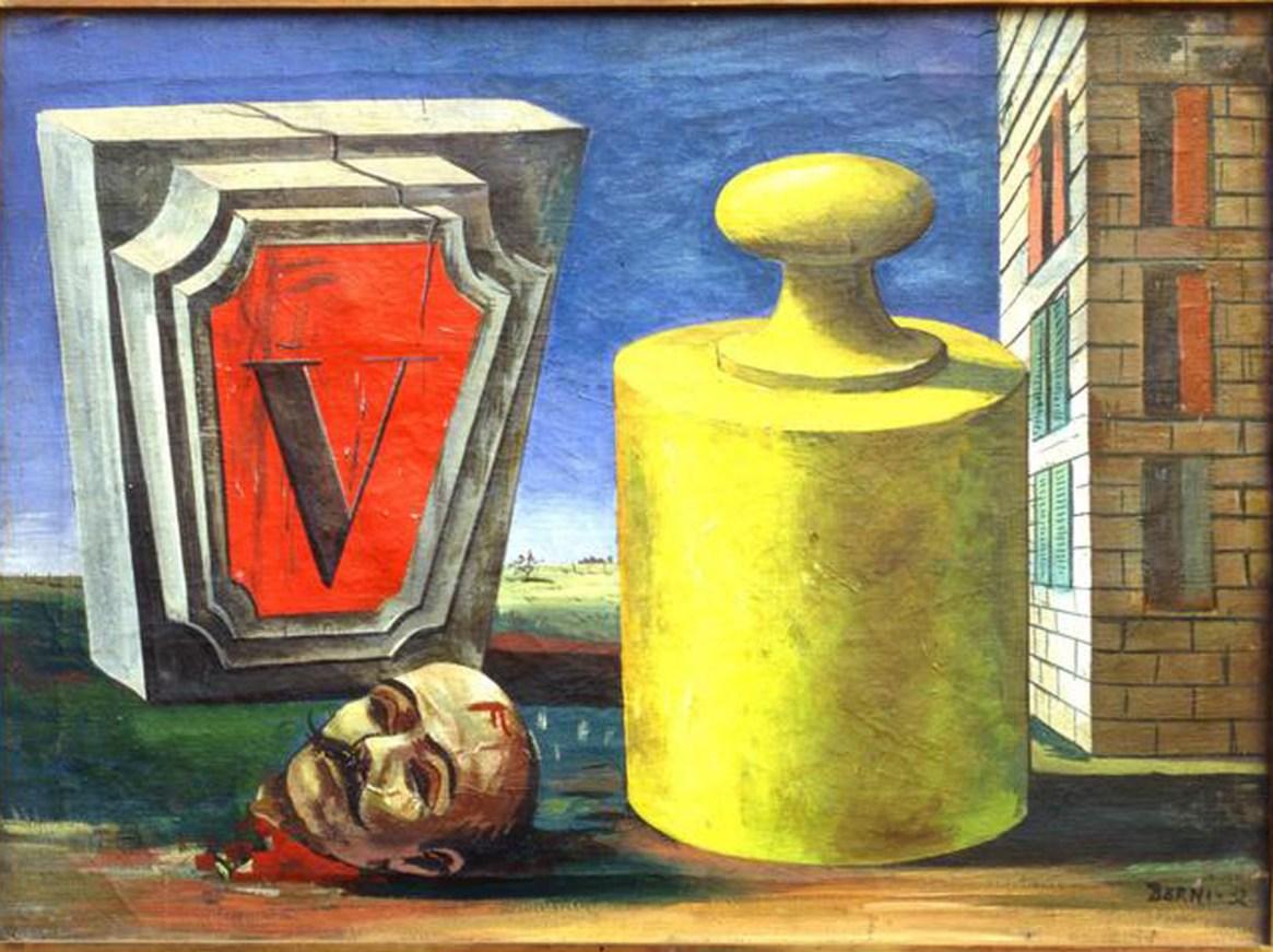 """La muerte acecha en cada esquina"", Antonio Berni, 1932"