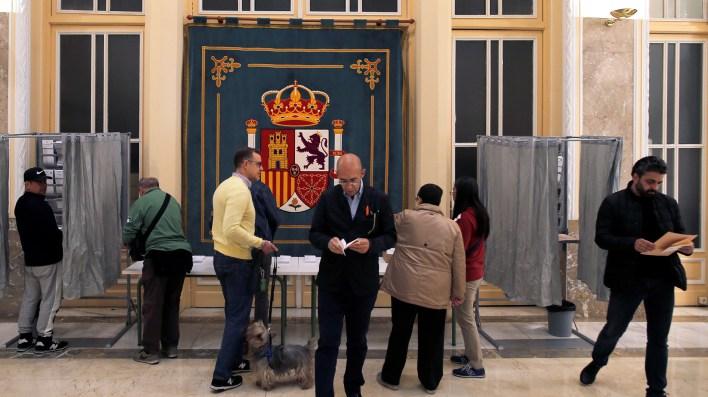 La participación es por el momento superior a la de las elecciones de 2016(REUTERS/Jon Nazca)