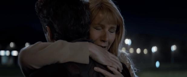 "Robert Downey Jr. y Gwyneth Paltrow en ""Avengers Endgame"""