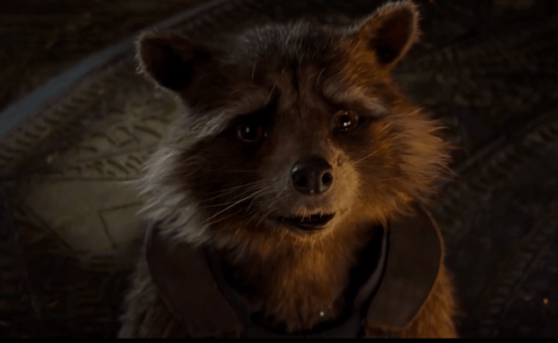 Bradley Cooper es la voz de Rocket Raccoon