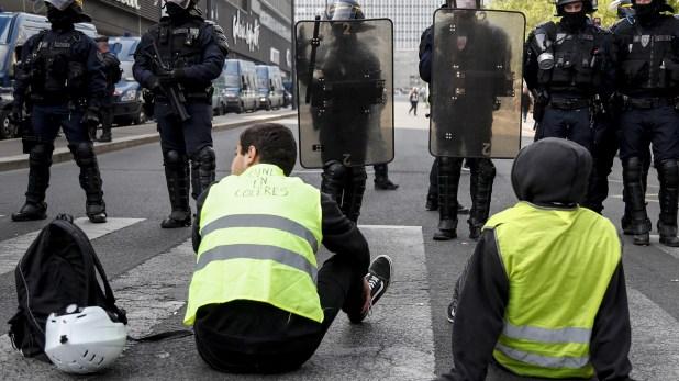 88 personas fueron arrestadas antes de las protestas