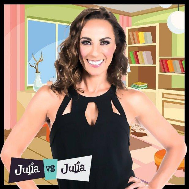 """Duval protagoniza la serie """"Julia vs Julia"""", que se estrenó este 30 de abril (Foto: Especial)"""