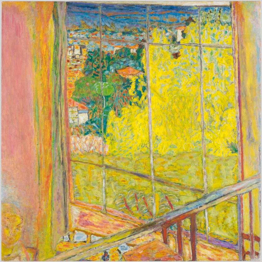 """""""Estudio con mimosas"""", 1939-1946. Museo Pompidou de París."""