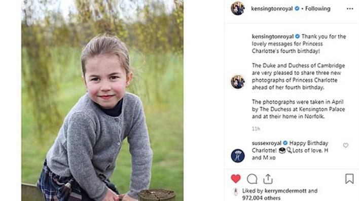 """El mensaje de los duques de Sussex que fue calificado de """"irrespetuoso"""" (@kensingtonroyal)"""
