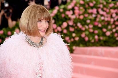 Anna Wintour en la Met Gala2019 /AFP