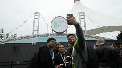 El evento de desarrolladores de Google convoca a miles de personas de todo el mundo, cada año (AP)