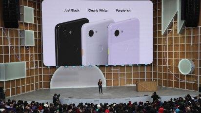 Google presentó los celulares Pixel 3a y 3a XL que vendrán en tres colores(AFP)