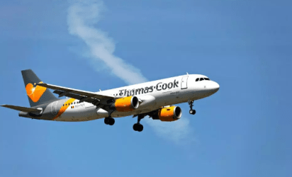 La aerolínea que reportó el incidente (Foto: The Sun)