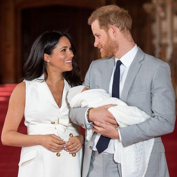 Meghan Markle y Harry presentaron a Archie este miércoles, dos días después de su nacimiento