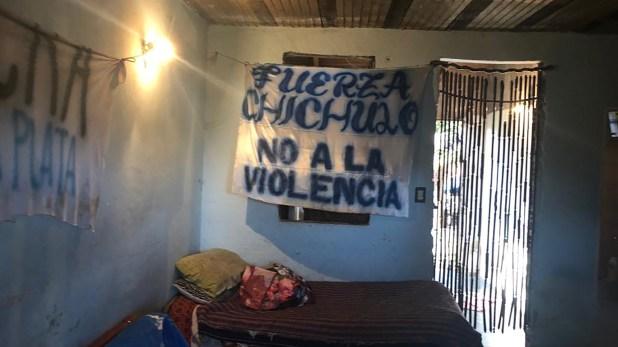 El interior de la vivienda que funcionaba como sede de actividad política de Unidad Ciudadana