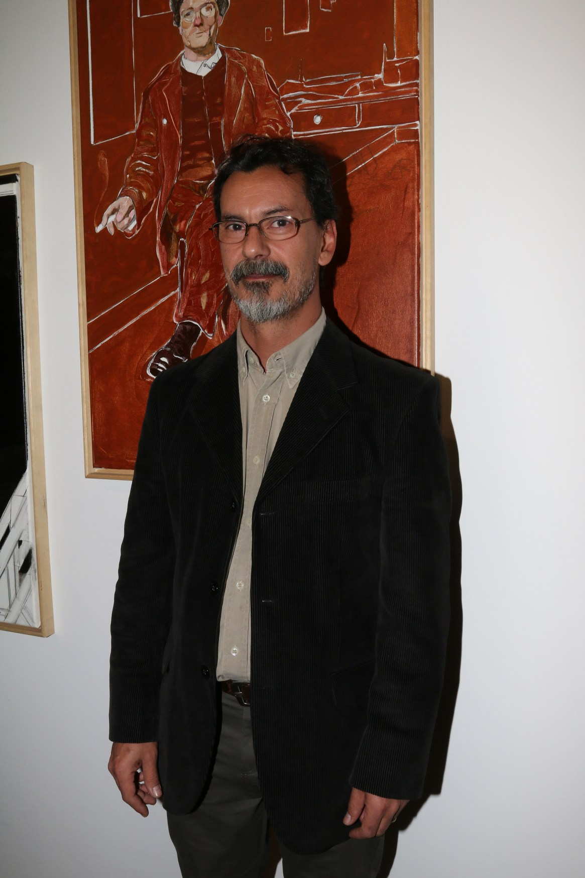 El artista Fernando O'Connor