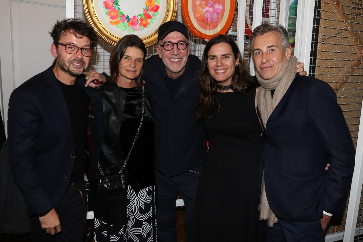 Wally Diamante, Isabelle Firmin Didot, Carlos Entenza, Natalia Grobocopatel y Grillo Demo
