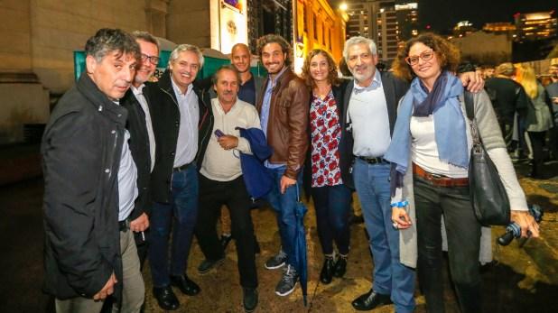 Alberto Fernández fue figura central del acto y del agradecimiento de Cristina