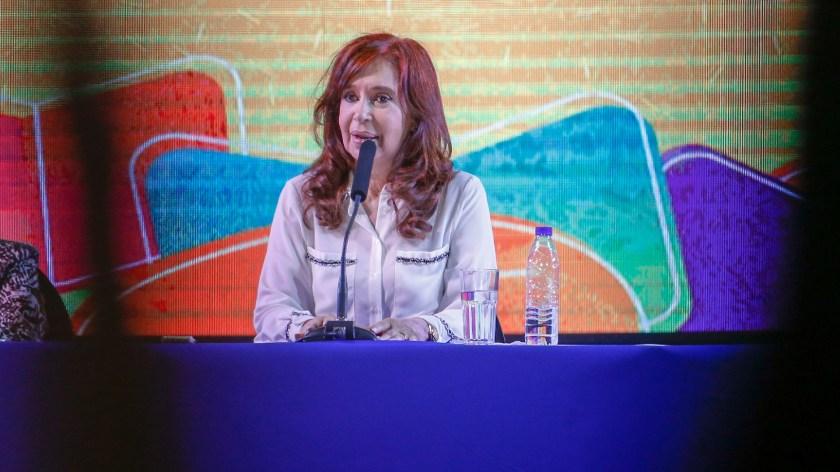 La ex presidenta Cristina Kirchner (Nicolás Aboaf)