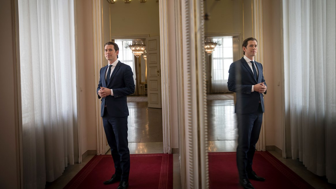 El canciller Sebastian Kurz ha retomado una parte importante de la agenda del Partido de la Libertad, al que invitó a formar una coalición en su gobierno Credit Gordon Welters para The New York Times