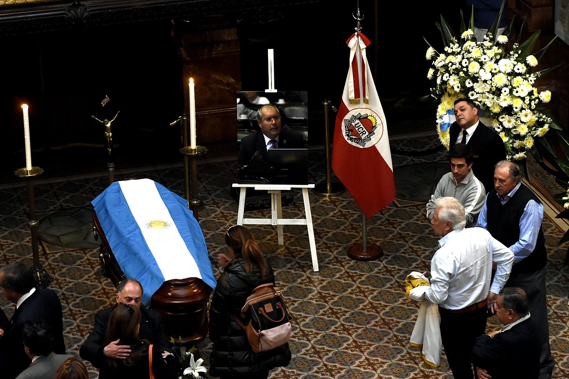 El diputado nacional falleció este domingo luego de estar tres días internado