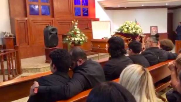 Familiares de Silver King le dieron el último adiós al luchador en México (Foto: Twitter drWagner)