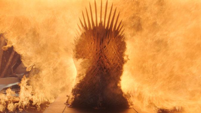 """Una escena del episodio final de """"Juego de tronos"""" (HBO)"""