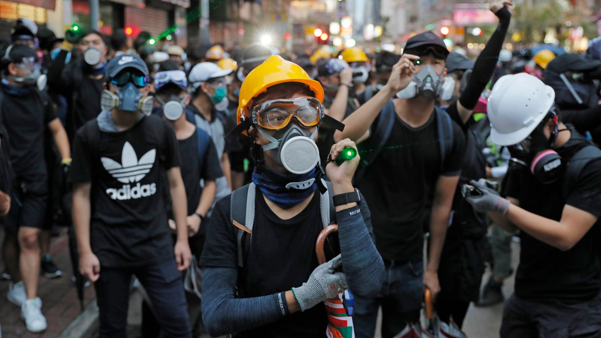 Resultado de imagen para Protestas en Hong Kong sabado 31 de agosto