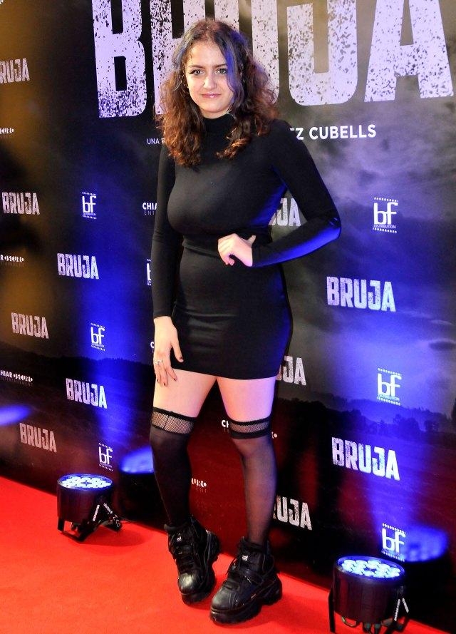 """Miranda de la Serna tiene 19 años y ya ha participado en películas como """"Antes del estreno"""" junto a sus padres , """"Amor urgente"""" y ahora """"Brujas"""" con Érica Rivas"""