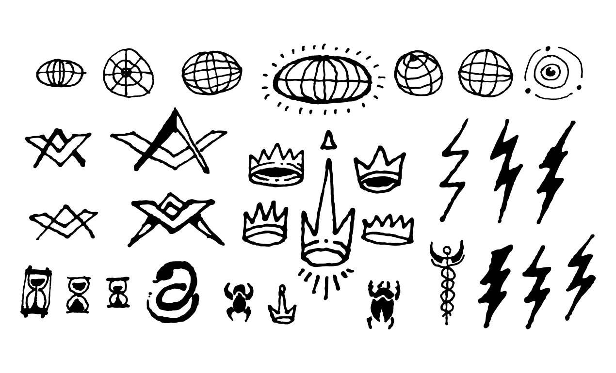 Esoteric Symbols And Vector Illustrations For Adobe