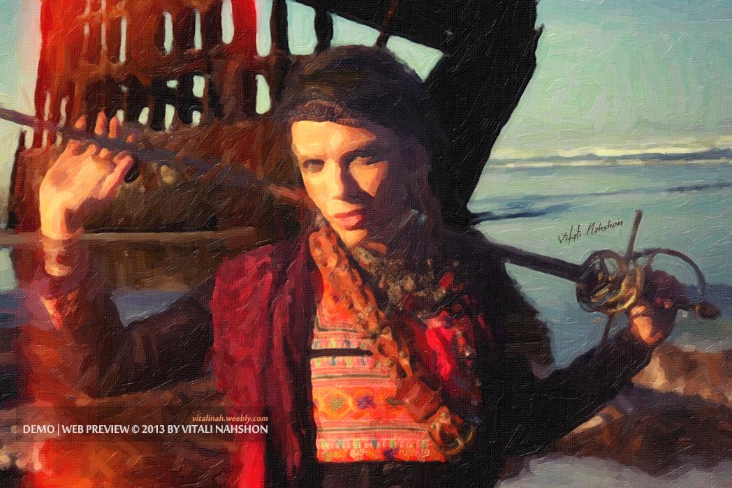 Pirates: Adventures in Art © 2013 by Vitali Nahshon